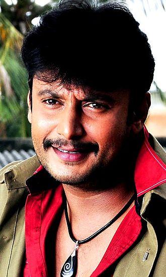 Darshan (actor) - Darshan filming Saarathi in 2011