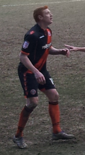 Dave Kitson - Dave Kitson playing for Sheffield United in March 2013