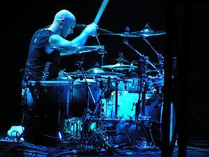 Dave McClain (drummer) - Image: Dave Mc Clain Rotterdam 2009 02