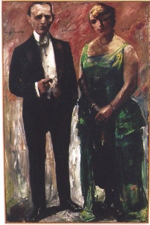 Stephan Hermlin - Parents David and Lola Leder painted by Lovis Corinth