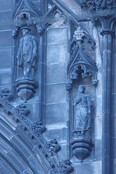 Davie Deans and Effie Deans as found on the Scott Monument, sculpted by Thomas Stuart Burnett.jpg