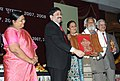 Dayanidhi Maran presenting the Shilp Guru Award 2007 to Mohd. A. Khatri from Gujarat for Tie & Dye Bandhani.jpg