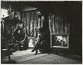 De schilder Christoffel Bisschop in zijn atelier, gefotografeerd door Sigmund Löw in 1903.jpg