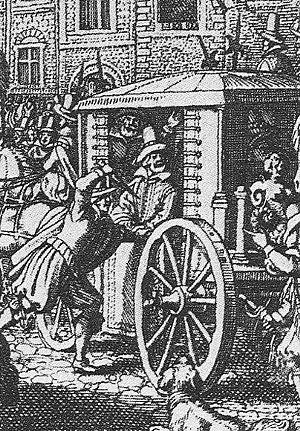 François Ravaillac - Ravaillac murdering Henry IV, rue de la Ferronnerie in Paris