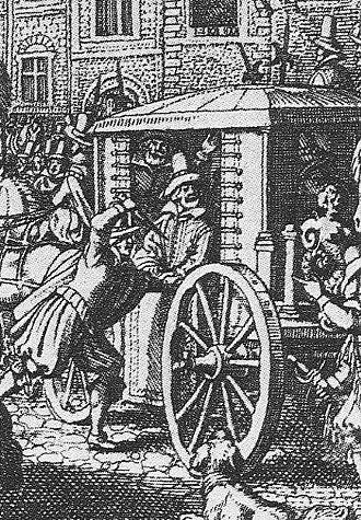 Regicide - Ravaillac murdering Henry IV, rue de la Ferronnerie in Paris, 1610