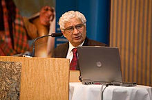 Deepak Nayyar at UNU-WIDER Annual Lecture, 2009.jpg
