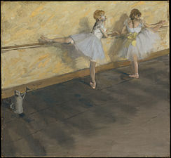 Degas - Dancers Practicing at the Bar.JPG