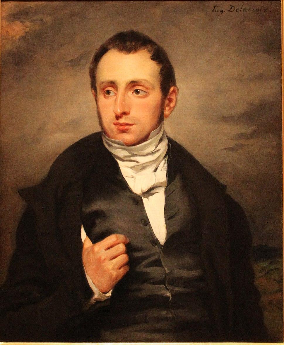 Delacroix portrait Desmaisons
