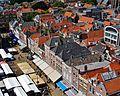 Delft Blick von der Nieuwe Kerk auf den Marktplatz 6.jpg