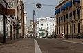 Den Haag, straatzicht Noordeinde met ruiterstandbeeld Willem van Oranje RM17830 IMG 8860 2019-03-24 11.22.jpg