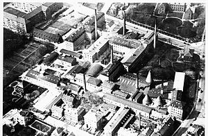 Porcelænshaven - Aerial from 1925