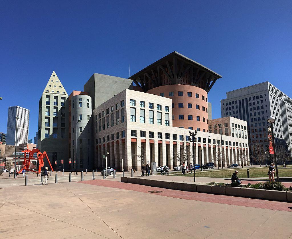 Denver Public Library Exterior Architecture