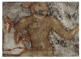 "Rajashekhara (Chera king) - Depiction of ""Cherman Perumal"" Nayanar in Brihadisvara Temple, Thanjavur"