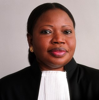 Fatou Bensouda Chief prosecutor of the International Criminal Court (2012–2021)