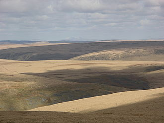 Desert of Wales - The Desert of Wales seen from Drygarn Fawr