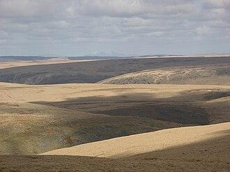 Moorland - Extensive moorland in the Desert of Wales