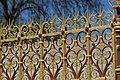 Detail of railings at the Albert Memorial in London, spring 2013 (4).JPG