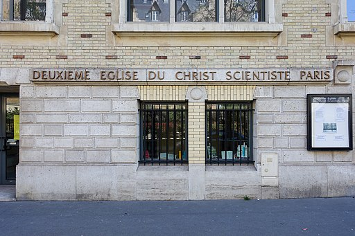 Deuxième Église du Christ Scientiste, 58 Boulevard Flandrin, 75016 Paris, France 001