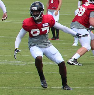 Devin Fuller - Fuller with the Atlanta Falcons in 2016