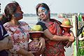 Devotees - Durga Idol Immersion Ceremony - Baja Kadamtala Ghat - Kolkata 2012-10-24 1538.JPG