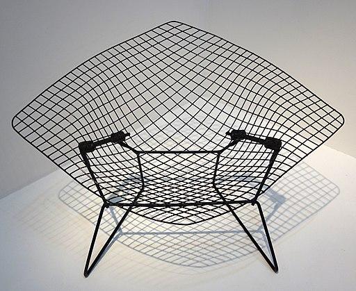 Diamond Chair - Harry Bertoia, MNAM