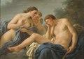 Diana and Endymion (Louis Lagrenée d.ä.) - Nationalmuseum - 17845.tif