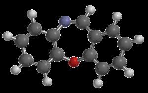 CR gas - Image: Dibenzoxazepine 3D