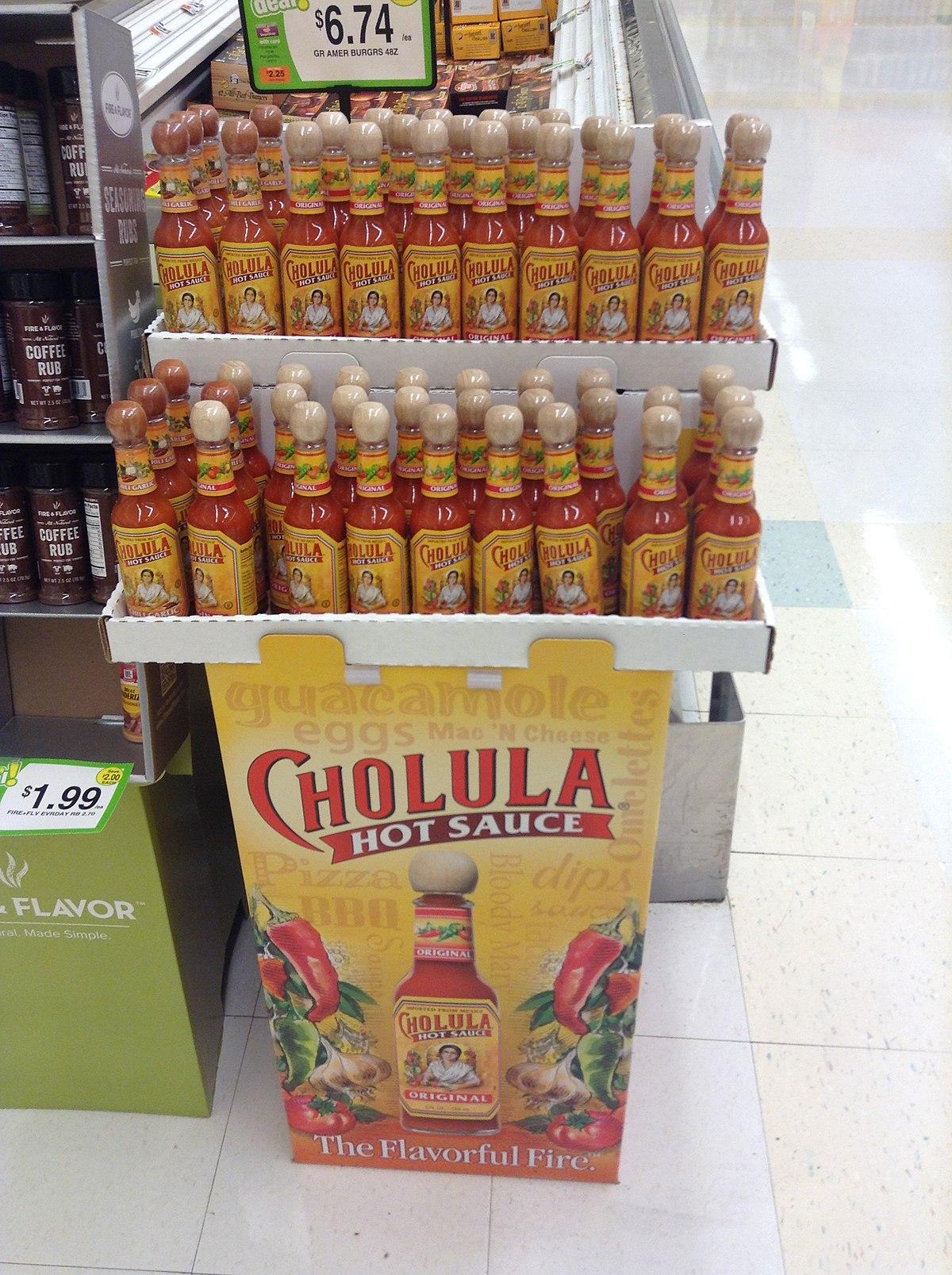 Cholula Hot Sauce Wikipedia