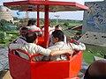 Dignitaries Riding Ropeway - Science City - Kolkata 2006-07-04 04785.JPG