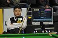 Ding Junhui at Snooker German Masters (DerHexer) 2013-01-30 02.jpg