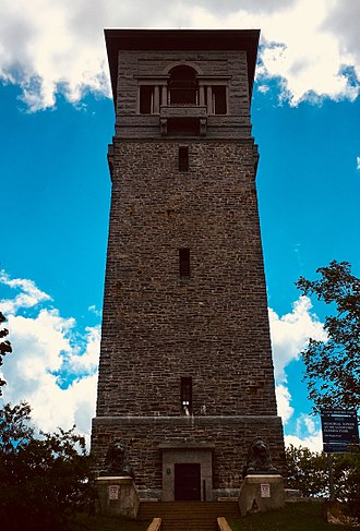 Sir Sandford Fleming Park - Restored tower, Spring 2018