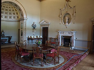 Art collections of Holkham Hall - The North Dining Room