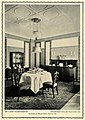 Dining Room at Darmstadt Artists' Colony's exhibition by Albin Muller, 1914.jpg