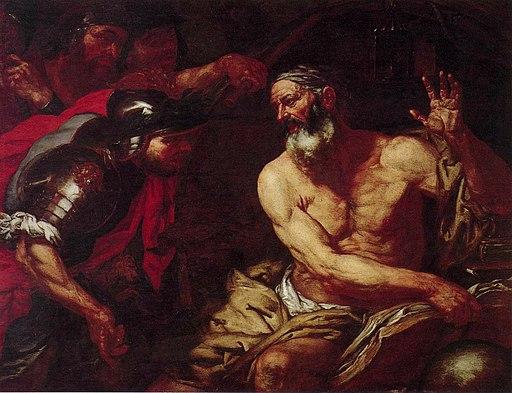 Diogene e Alessandro Magno - Langetti