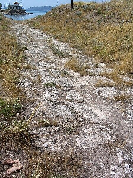 Αρχείο:Diolkos, Western End. Pic 04.jpg