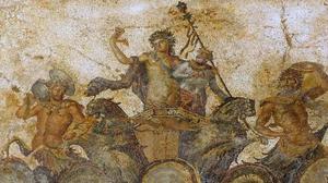 Dionysus mosaic, Dion - Part of the Dionysus mosaic