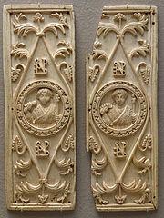 ivory consular diptych of Areobindus