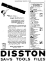 Disston advert in Saturday Evening Post 1921.png