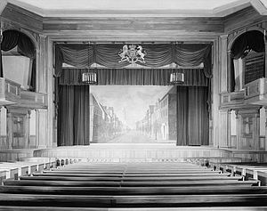 Dock Street Theatre - Stage and seats