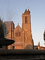 Dol-de-Bretagne (35) Cathédrale Façade ouest 02.jpg