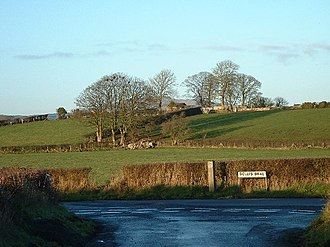 "Orange Order - Dolly's Brae, site of the ""Battle of Dolly's Brae"" (1849) between Orangemen and Catholic Ribbonmen"