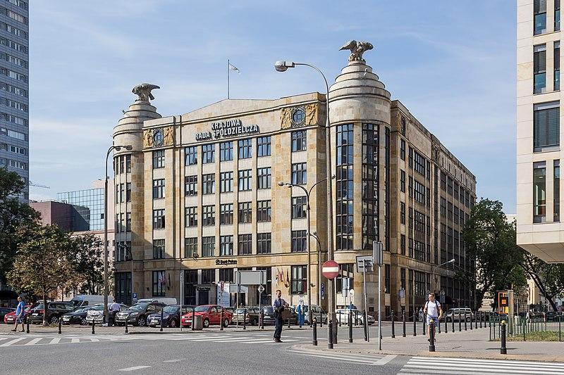 Plik:Dom Pod Orłami w Warszawie (budynek Banku Towarzystw Spółdzielczych).jpg