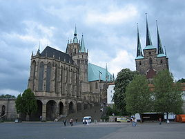 Mariendom and the Severikirche