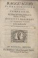 Domenico Corradi d'Austria – Ragguagli di una scrittura intitolata compendio ed, 1719 - BEIC 13328459.tif