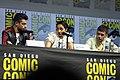 Dominic Cooper, Ruth Negga & Joe Gilgun (43702966181).jpg