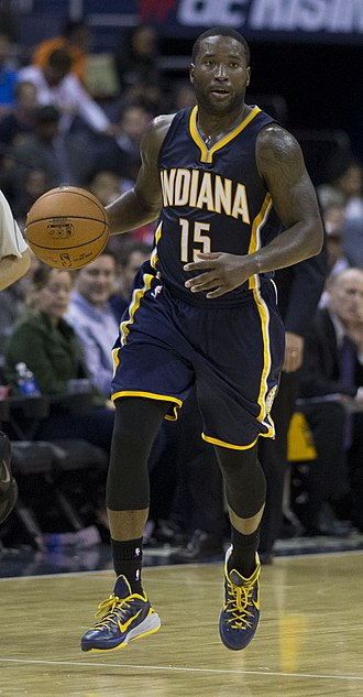 Donald Sloan (basketball) - Sloan playing for the Indiana Pacers in November 2014