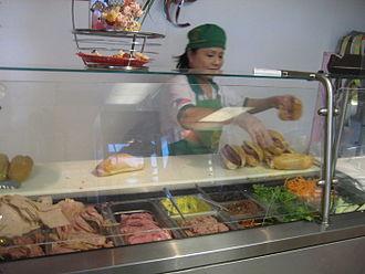 Dong Phuong Oriental Bakery - Banh mi counter