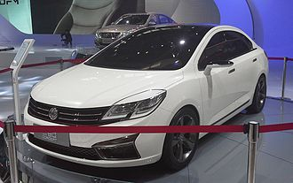 Dongfeng Fengshen L60 - Dongfeng Fengshen L60 Concept front