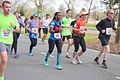 Donkere mensen hebben veel aanleg voor lopen Marathon Rotterdam 2015.jpg