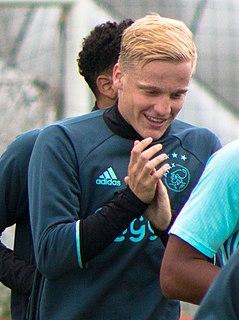 Donny van de Beek Dutch association football player